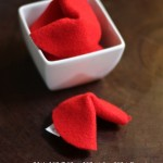 Chinese New Year Felt Fortune Cookies