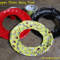 DIY Paper Plate Ring Toss