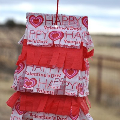 How to Make a Valentine's Day Pinata Craft