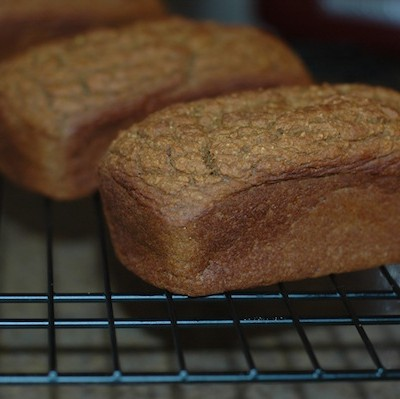 Healthy Pumpkin Bread Mini Loaves for Gift Giving