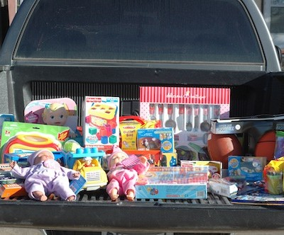 Toy Haul – Our Donation of Toys this Holiday Season