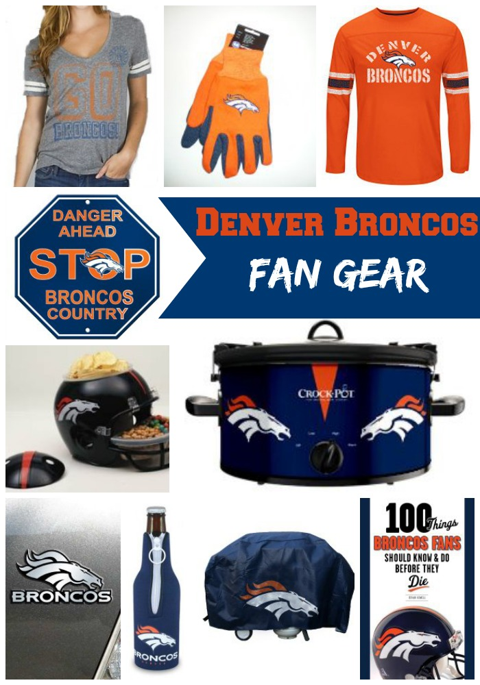 Denver Broncos Fan Gear