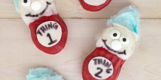 Dr Seuss Thing 1 Nutter Butter Treats
