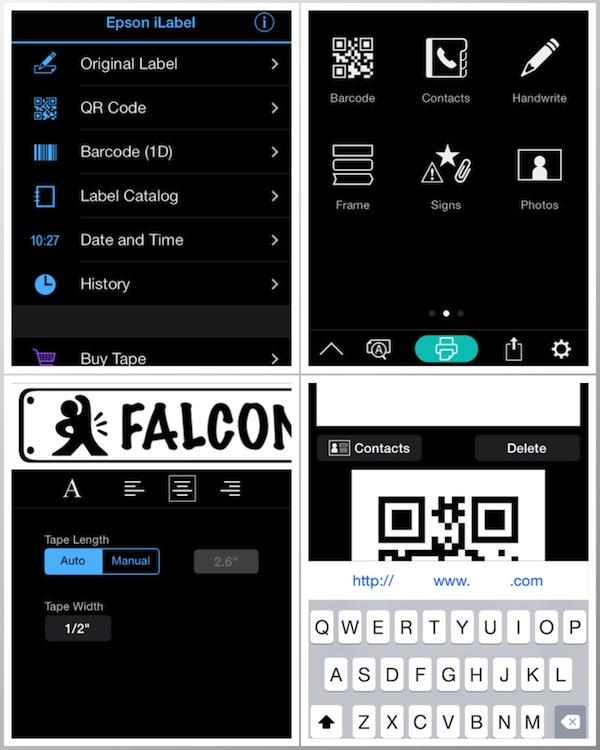 Epson LW-600P App Pics