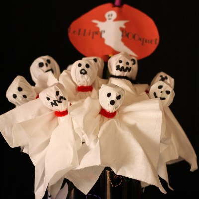 Halloween Lollipop BOOquet Craft