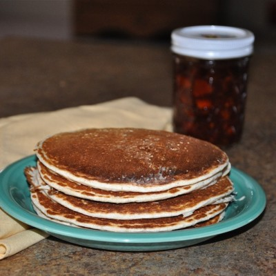 Homemade, Healthy Pancake Recipe