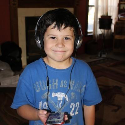 Truett Loves his Kidz Gear Headphones {Giveaway}
