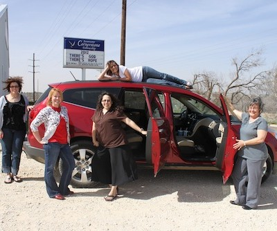 A Look at the 2012 Chevy Traverse and the Women In It