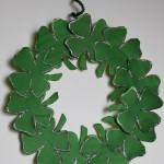 St. Patrick's Day Shamrock Wreath Craft