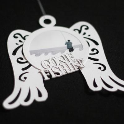 Cricut Paper Craft – Angel Wings Memorial Ornament