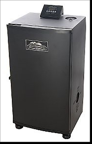 Masterbuilt 20070106 30-Inch Electric Smokehouse Smoker, Black  Patio, Lawn nd Garden