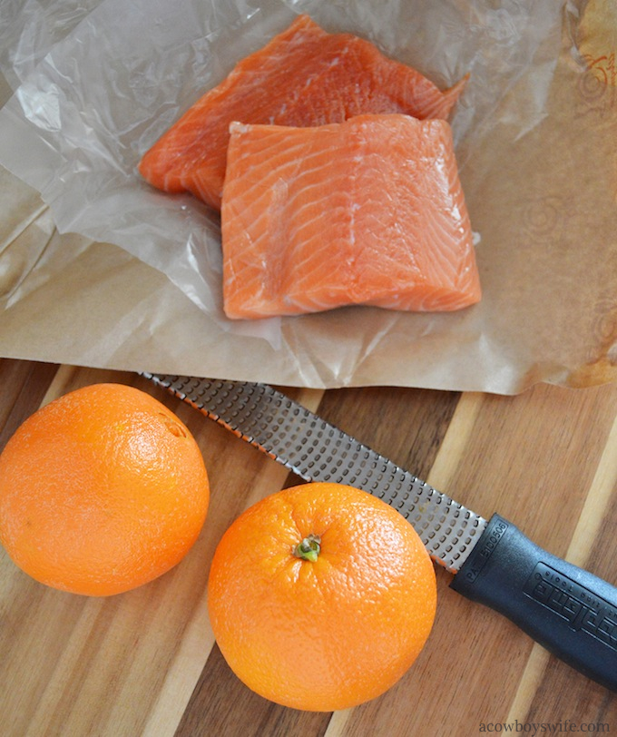 Orange glazed salmon (1)