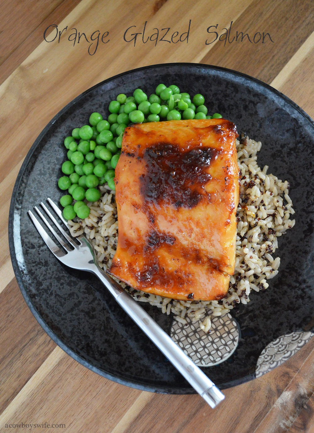 Orange Glazed Salmon Recipe
