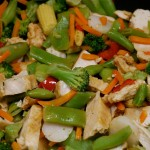 Ten Minute Vegetable Stir-Fry