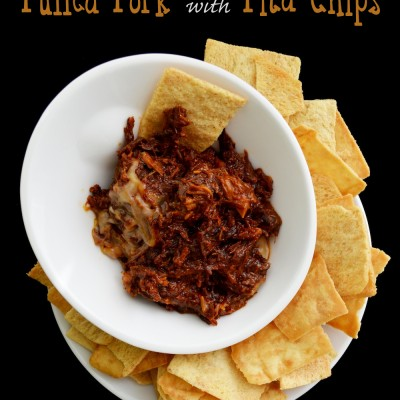 Game Day: Pulled Pork with Pita Chips