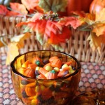 Fall Decor – Simple Pumpkin Candy Dish