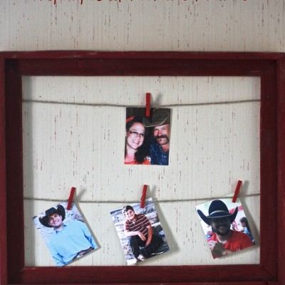 DIY Made Easy – Repurposed Picture Frame