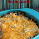 Santa Fe Chicken Casserole