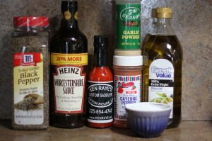 Spicy Buffalo wings ingredients