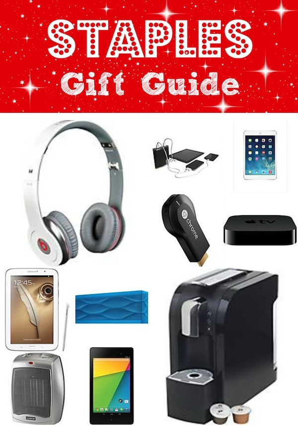 Staples Gift Guide