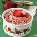 StrawberryCreamCrumble