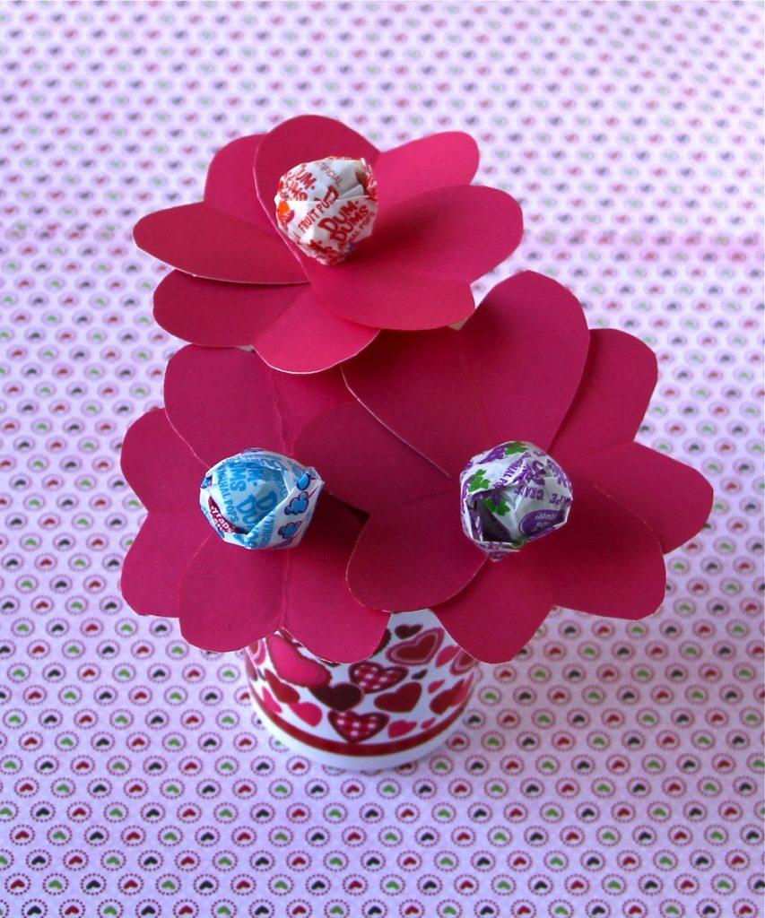 Valentine's Dum-Dum Flowerb