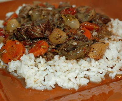 The Easiest and Best Beef Bourguignon EVER!