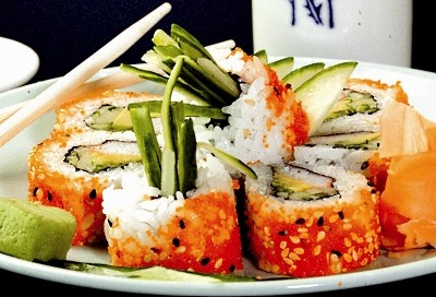 Japanese Cuisine California Sushi Roll