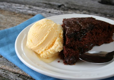 Hot Fudge Cake that Melts in Your Mouth