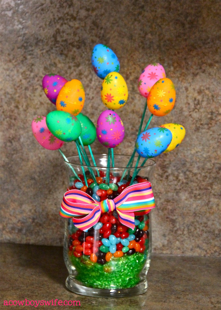 easter egg bouquet filled with inspiration