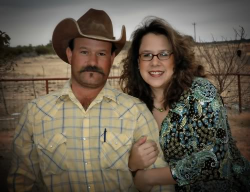 A Cowboy and His Wife