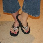 MY Fashion Favorite – FLIP FLOPS Cowgirl Style!