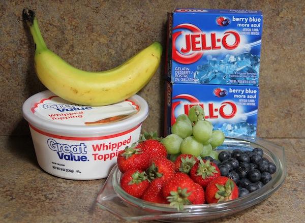 fresh fruit salad ingredients