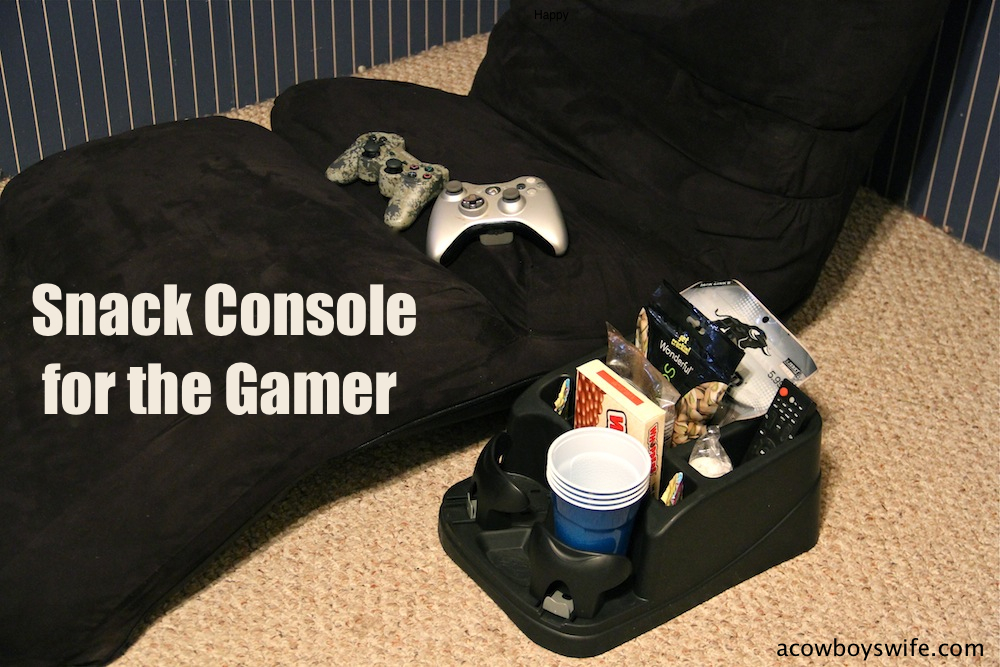 gamer snack console