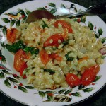 Tomato-Saffron Risotto Milanese