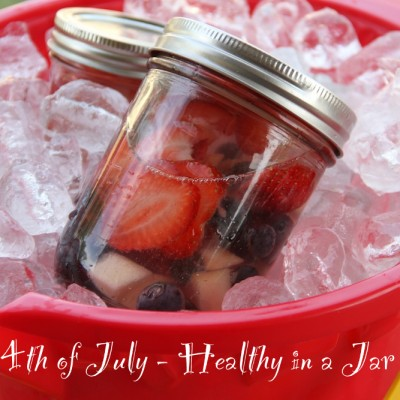 Healthy In a Jar for 4th of July