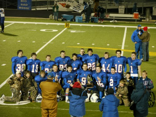 2009 highland hornets semifinal sixman football game winners