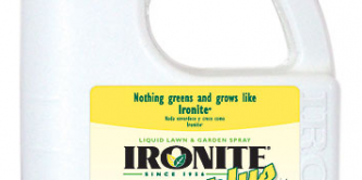ironite lawn and garden spray