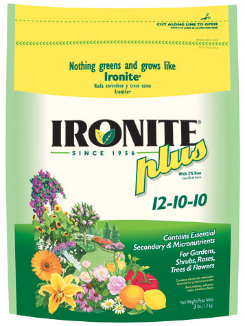 ironite lawn and plant food