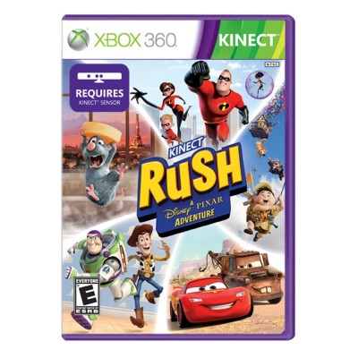 Review of Kinect Rush, a Disney Pixar Game for Xbox 360