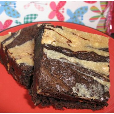 Chocolate Chip Peanut Butter Cheesecake Brownies or Pie