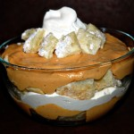 Pumpkin Pudding Parfait