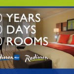 Radisson's 50 Years, 50 Days, 50 Rooms {Giveaway}