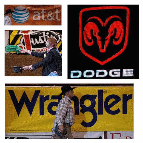 Rodeo sponsors