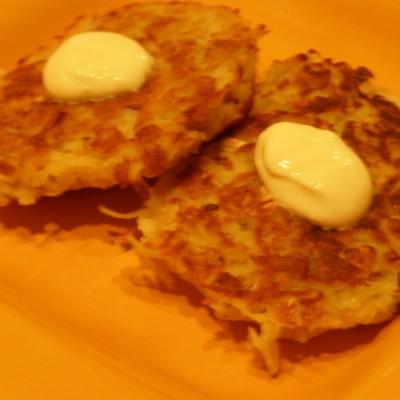 Sweet Flake Potato Pancakes