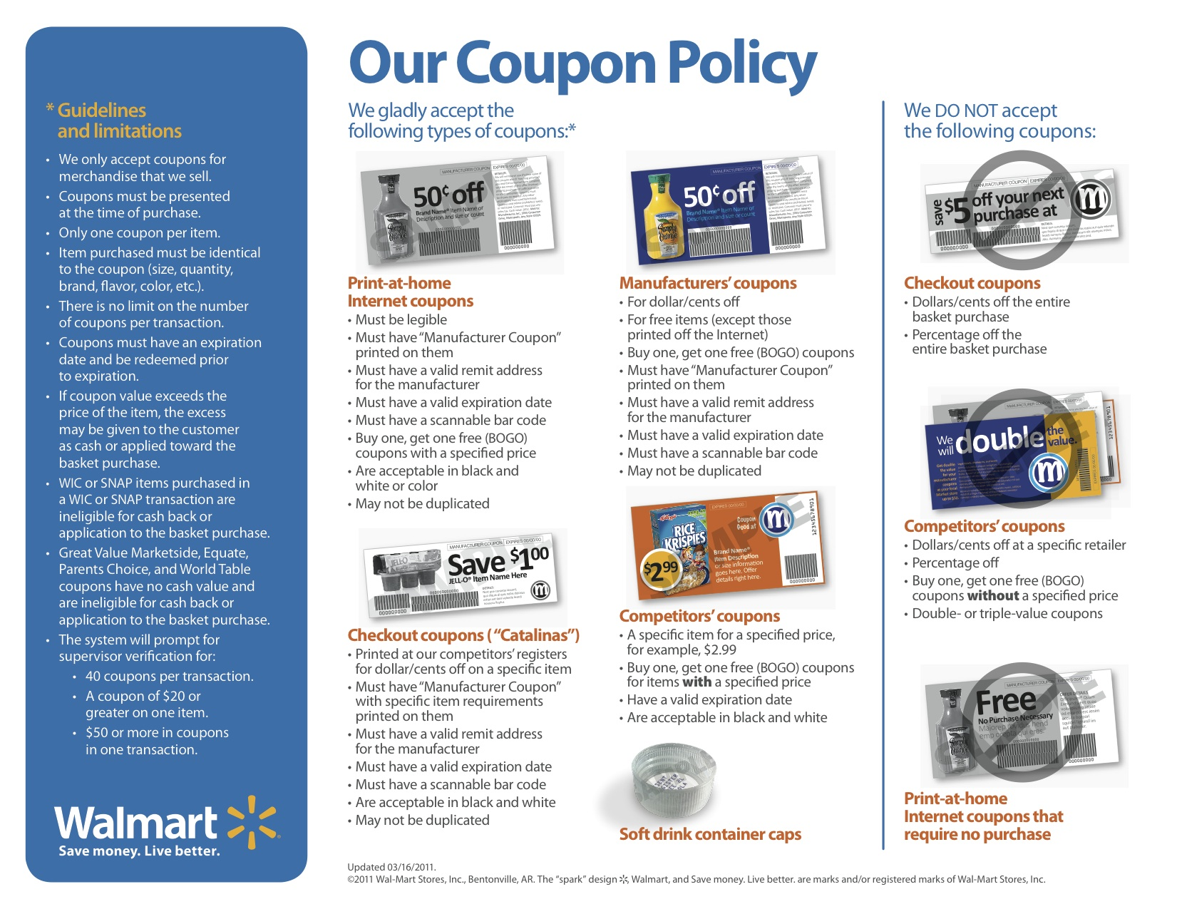 The New Walmart Coupon Policy Updated A Cowboy S Wife