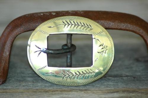 Cowboy Gear – Brass Buckles