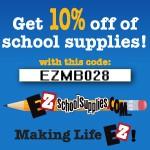EZ School Supplies Online – Save YOUR Gas!