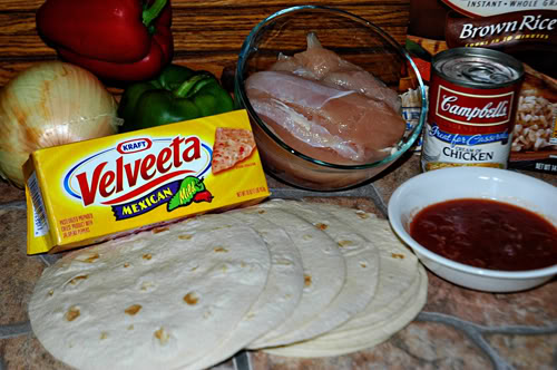 Chicken Fajita Casserole Ingredients