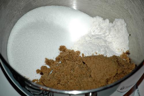 Oatmeal Cake Flour Mixture